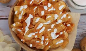 Ετοιμάστε εύκολα και τραγανά chips πατάτας