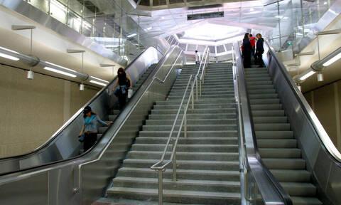 Άγιος Δημήτριος: Άνδρας έπεσε στις γραμμές του Μετρό
