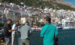 Χαμός στην Κάλυμνο: Πέτυχαν τζακ ποτ οι ψαράδες - Έτρεχαν όλοι στο λιμάνι