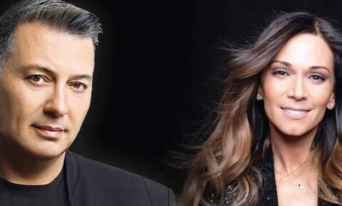 Ο Νίκος Μακρόπουλος στο Stage Live με την 'Ελλη Κοκκίνου και τον Βασίλη Δήμα