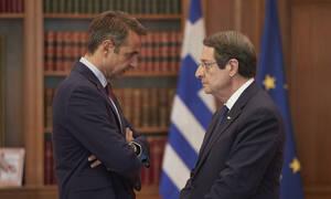 Τηλεφωνική επικοινωνία Μητσοτάκη - Αναστασιάδη: Κοινή γραμμή Ελλάδας - Κύπρου στον ΟΗΕ