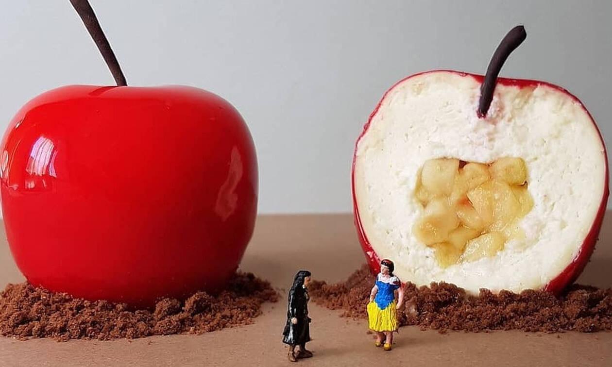 Ένας food artist απογειώνει τις τούρτες του σε έργα τέχνης που δεν έχεις ξαναδεί στη ζωή σου