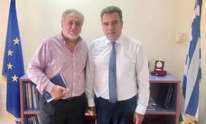 Συνάντηση υφ. Τουρισμού Μάνου Κόνσολα, με τον πρόεδρο της SkyExpress