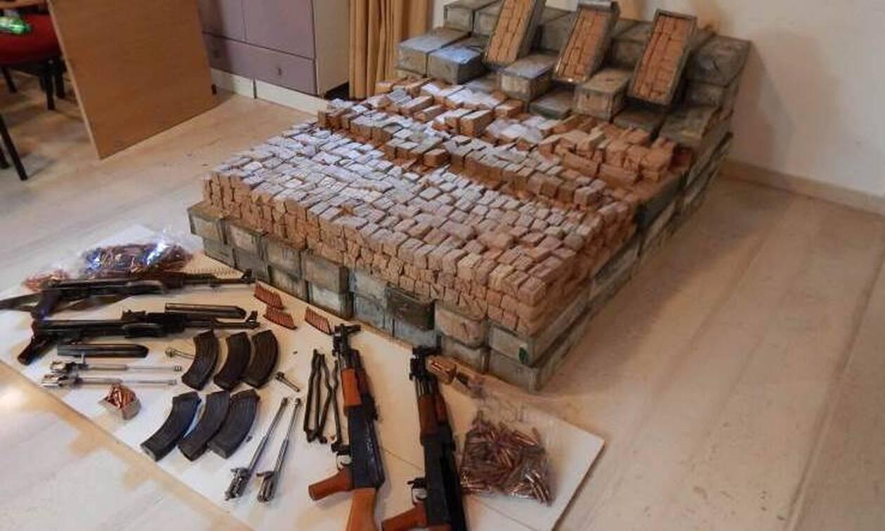 Κρήτη: Στη φυλακή ο «εγκέφαλος» του κυκλώματος διακίνησης πολεμικών όπλων