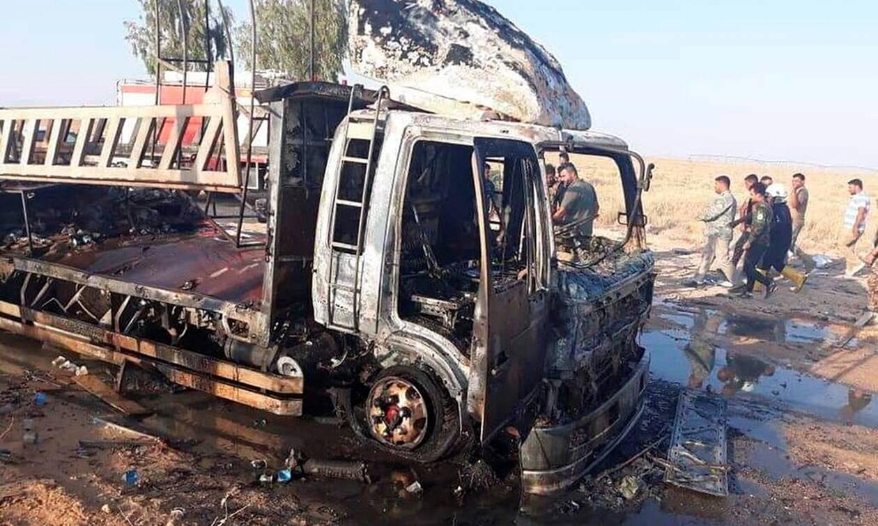 «Λουτρό» αίματος στο Ιράκ: Δώδεκα νεκροί από έκρηξη βόμβας μέσα σε λεωφορείο στην Κερμπάλα