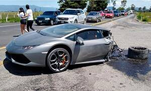 Mία Lamborghini Huracán κόβεται στα δύο σε ατύχημα! (vid)