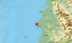 Ισχυρός σεισμός ταρακούνησε και πάλι την Αλβανία