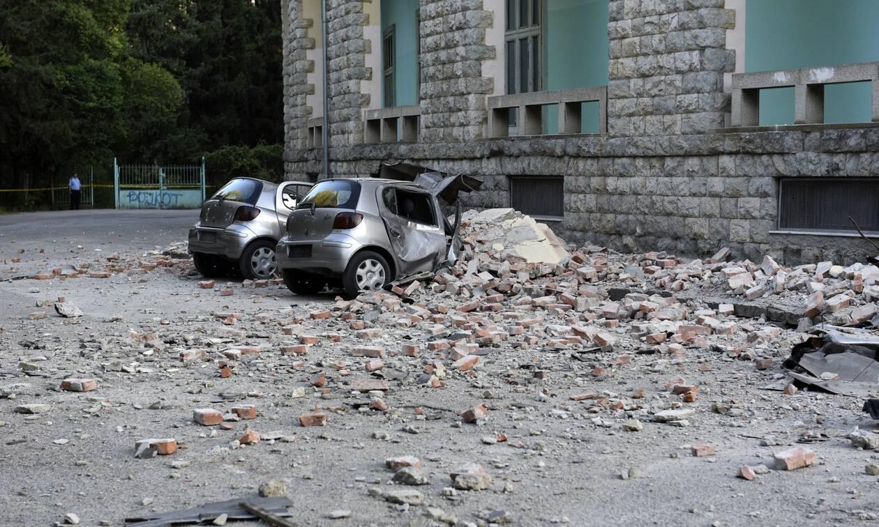 Σεισμός: Δύσκολη νύχτα στην Αλβανία – Καταστροφές, πανικός και τραυματίες