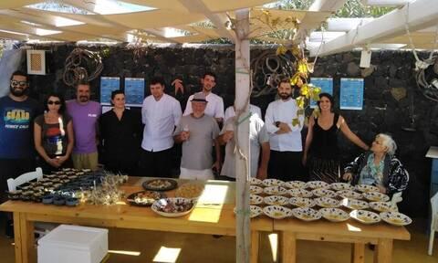 Φάτα πριν μας... φάνε! Οι σεφ της Σαντορίνης αντιμετωπίζουν τις απειλές του Αιγαίου