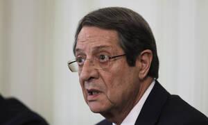 Αναστασιάδης: Κανένας διάλογος για το Κυπριακό όσο η Τουρκία απειλεί