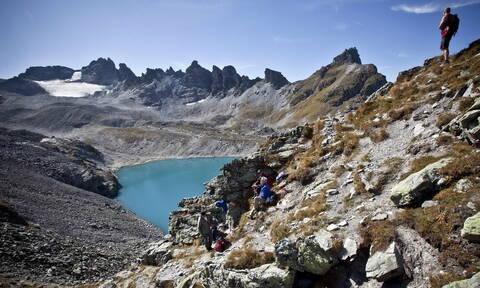 Ελβετία: Παρελθόν ο παγετώνας Πιτζόλ - Του έκαναν «κηδεία» (pics+vid)