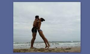 Μετακόμισε μόνιμα στην Ισπανία και απολαμβάνει topless τον έρωτά της