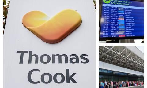 Thomas Cook: Ουρές και απόγνωση στην Κέρκυρα μετά την πτώχευση του τουριστικού κολοσσού (pics+vids)