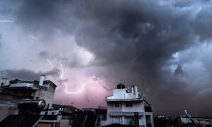 Καιρός: Έκτακτο δελτίο ΕΜΥ - Καταιγίδες και χαλάζι τις επόμενες ώρες