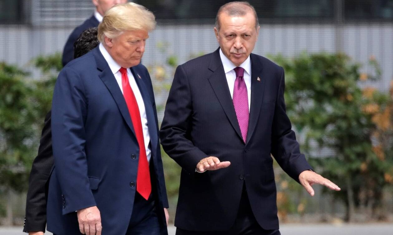 Ερντογάν… τέλος! Ο Τραμπ τιμωρεί τον «σουλτάνο» και αρνείται να συναντηθεί μαζί του