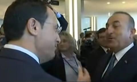 ΟΗΕ - Ένταση μεταξύ Χριστοδουλίδη και Τσαβούσογλου: «Δεν υπάρχει άλλη λύση από τη ΔΔΟ»