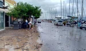 Κεφαλονιά: Εικόνες Βιβλικής καταστροφής στην Αγία Ευφημία - «Πνίγηκε» στη λάσπη η κοινότητα