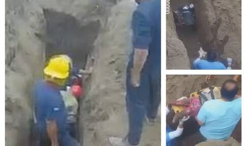 Βρέφος 20 μηνών έπεσε σε πηγάδι – Συγκλονιστικές εικόνες από την επιχείρηση διάσωσης