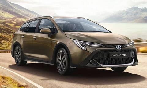 Η TREK είναι η νέα, πιο crossover εκδοχή της Toyota Corolla