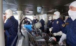 Επικίνδυνες εξελίξεις: Ελληνικές φρεγάτες απέναντι από τουρκικές στο Καστελλόριζο