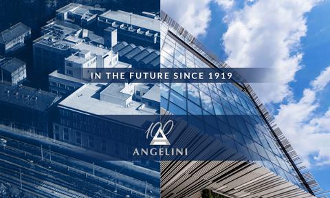 Η Αngelini γιορτάζει τα 100 χρόνια και παρουσιάζει ένα ειδικό λογότυπο