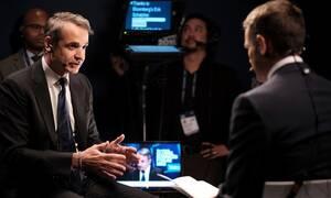 Μητσοτάκης στο Bloomberg: Win-win η συμφωνία για προσφυγικό - Ο Ερντογάν μπορεί να κάνει περισσότερα