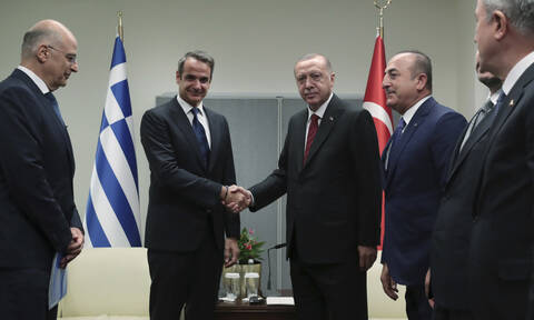Τι είπαν Μητσοτάκης - Ερντογάν πίσω από τις κλειστές πόρτες