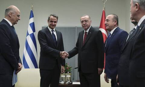 Переговоры Мицотакиса и Эрдогана прошли в дружеской атмосфере
