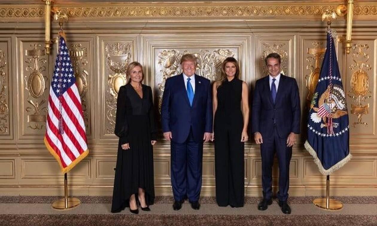 Πρεσβεία ΗΠΑ: Ήταν προγραμματισμένο το ραντεβού Μητσοτάκη – Τραμπ