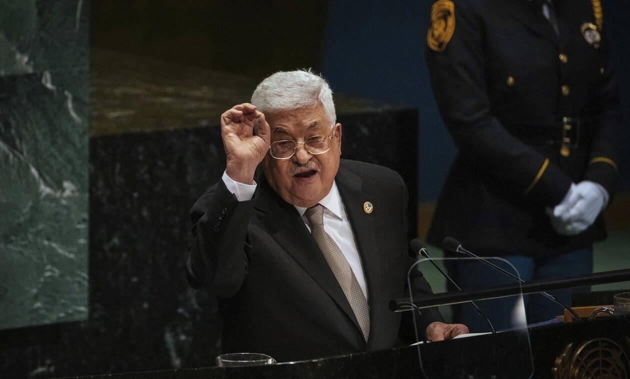 Παλαιστίνη: Ο Μαχμούντ Αμπάς απειλεί να τερματίσει όλες τις συμφωνίες με το Ισραήλ