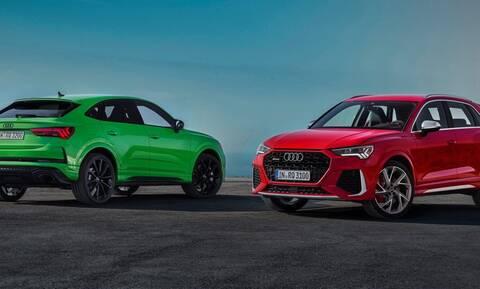 Τα νέα Audi RS Q3 έχουν 400 ίππους και 0-100 σε 4,5 δεύτερα