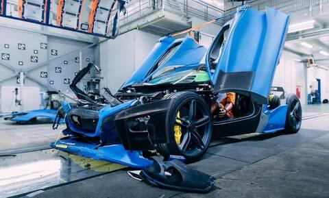 Δείτε το απίστευτο crash test του Rimac C_Two των 2 εκατομμυρίων ευρώ! (Video)