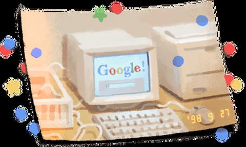 Google: Γιορτάζει τα 21α γενέθλιά της με ένα doodle