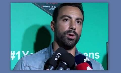 Ο Σάκης Τανιμανίδης είδε το πρώτο γύρισμα του The Voice και έκανε αποκαλύψεις στις κάμερες