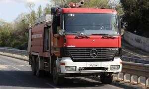Φρικτό τροχαίο στο Κρυονέρι: Ένας νεκρός - Το αυτοκίνητό του τυλίχθηκε στις φλόγες
