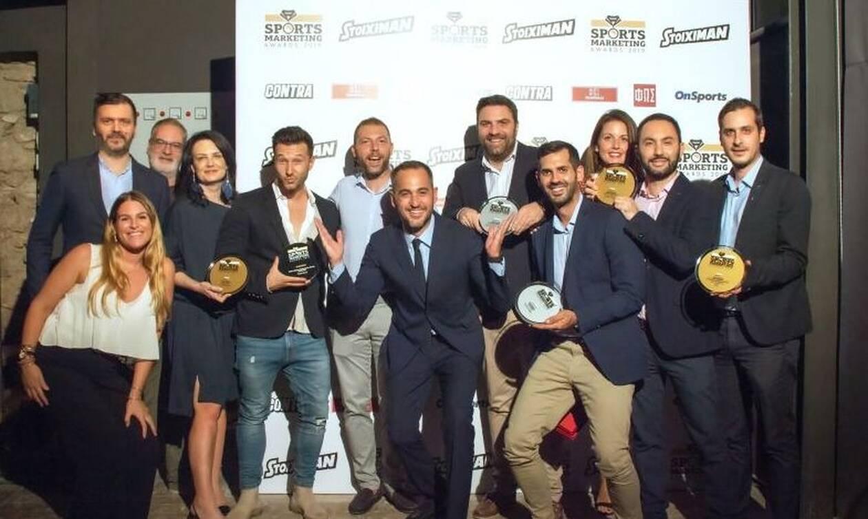 Stoiximan: Στην κορυφή των Sports Marketing Awards