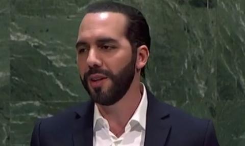OHE: Ο πρόεδρος του Ελ Σαλβαδόρ έγινε viral - Δείτε γιατί