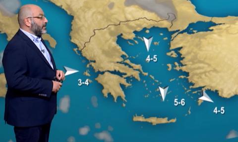 Καιρός: Προειδοποίηση Αρναούτογλου για τα πρώτα χιόνια και το τέλος καλοκαιριού (video)