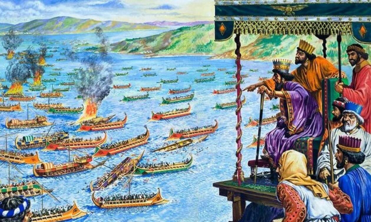 Σαν σήμερα το 480 π.Χ. έγινε η ναυμαχία της Σαλαμίνας