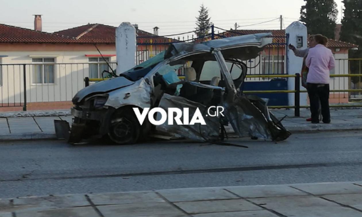 Τραγωδία στη Θεσσαλονίκη: Ένας νεκρός και οχτώ τραυματίες σε σφοδρή καραμπόλα