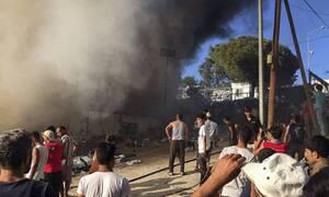 На Лесбосе в результате пожара в лагере для беженцев погибли женщина и ребенок