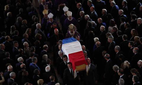 Γαλλία: Τελευταίο «αντίο» στον Ζακ Σιράκ παρουσία πολυάριθμων ξένων ηγετών