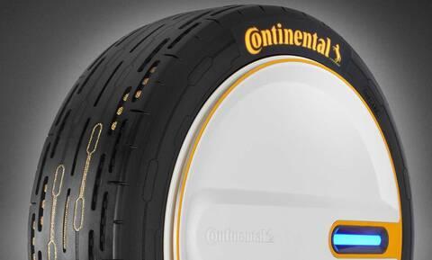 Aυτό είναι το ελαστικό της Continental που διατηρεί τη βέλτιστη πίεση για χάρη της οικονομίας