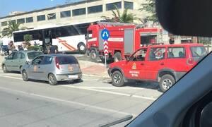 Θεσσαλονίκη: Τροχαίο για λεωφορείο του ΚΤΕΛ με 12 τραυματίες