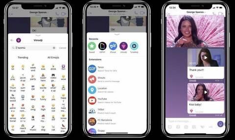 Vimodji: Η πρώτη ελληνική εφαρμογή που επιτρέπει στους χρήστες του Viber να εκφράζονται μέσω βίντεο