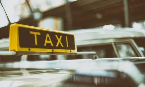 Καβγάς γνωστού ποδοσφαιριστή με ταξιτζή στη μέση του δρόμου (pics)
