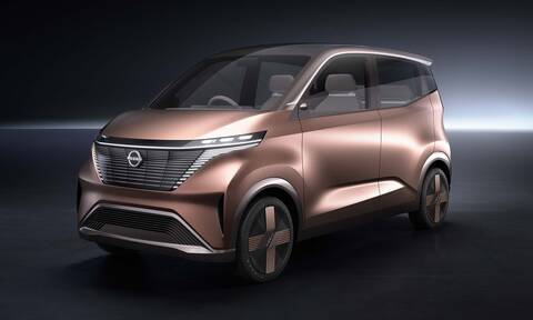 To Nissan IMk EV προλογίζει τα αυτοκίνητα πόλης του μέλλοντος