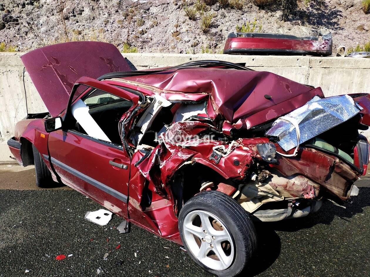 Τραγωδία στην Εγνατία Οδό: Νεκρή 27χρονη σε θανατηφόρο τροχαίο (pics, vid)
