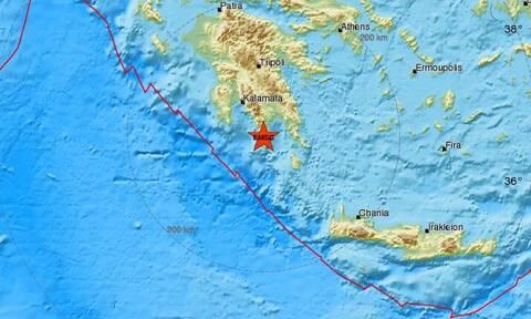 Σεισμός στη Λακωνία (pics)