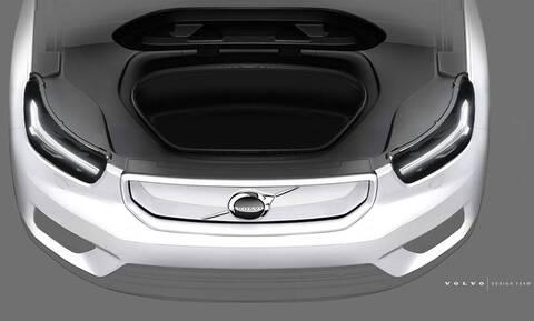 Το ηλεκτρικό Volvo XC40 θα έχει και εμπρός πορτ-μπαγκάζ